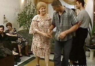 Mature Grannies Hardcore Orgy - 1 min 8 sec