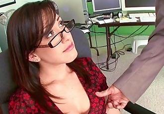 HumiliatedMilfs - Jennifer White Bent Over The Office Chair & Boned! - 9 min HD