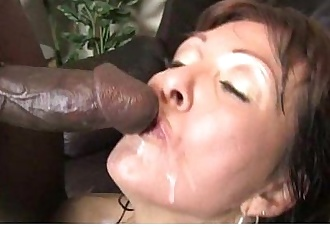 Black monster fucks my moms tight pussy 5