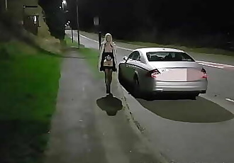 Out Flashing With My Toyboy At Husbands Request! 2 min