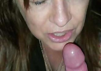 Suck my cock after you fucked yiur boyfriend