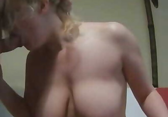 Ass To Mouth For Horny Blonde MILF