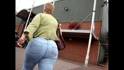 Big Ass Granny Jeans - 1 min 12 sec