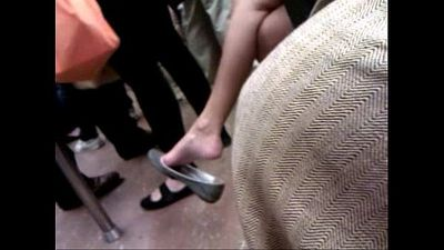 Asian milf expert dangle on F train - 52 sec