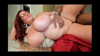 Big Tit BBW Peaches Larue Fucks Black Stranger - 2 min HD