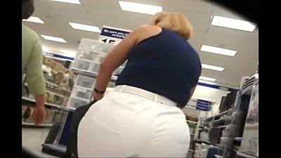 Big fat ass mom shopping - 2 min