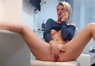 Romanian mature fisting on call