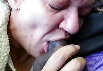 Deepthroat creampie