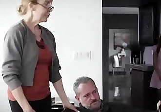 PURE TABOO Delinquent Teens Corrupted by Pervert Step-Grandpa 14 min 1080p