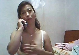 Korean Mother Shows Off Her Hairy Pussy - 21 min