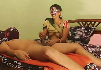 Sexy Desi Horny Bhabhi Amrita With Young Lover Passionate Fucking 73 sec 1080p