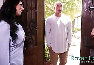 Dont worry my husband hasnt have to know!Raven Hart, Derrick Pierce 6 min 720p