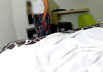 my stepmother told me to take her to a motel to take a shower and go with she friends, but she really wanted to fuck..