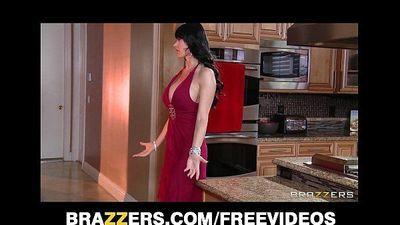 Gold Digger Eva Karera seduces a younger man for his cash - 7 min HD