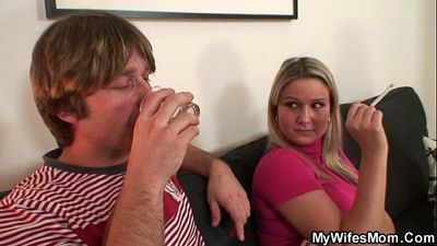 Her husband is fucking her mom - 6 min