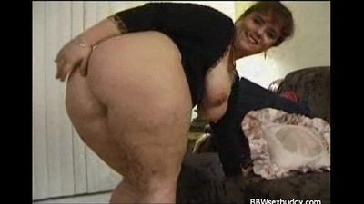 Naughty BBW got a big booty - 10 min