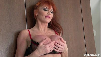 LiveGonzo Taylor Wane Busty MILF Wants More Sex - 8 min HD