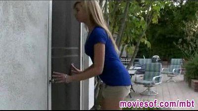 Hot huge tits MILF caught sucking Mollys boyfriend - 5 min