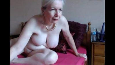 hot UK granny orgasm-livetaboocams.com - 7 min