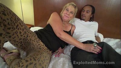 Granny gets Pussy pounded with Big Black Cock until shes Sore - 6 min HD
