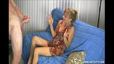 Granny Loves This Big Cock - 10 min