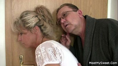His mom and dad tricks her into sex - 6 min