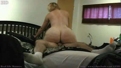 Big Butt Blonde Cougar Karmen45F from Naughty4You.com - 7 min