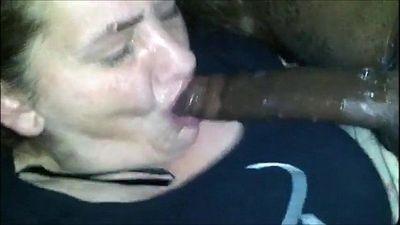 Granny from EpikGranny.com gives sloppy blowjob - 3 min
