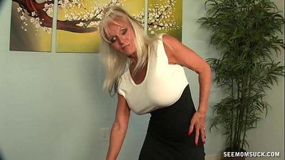 Granny POV Blowjob - 6 min HD