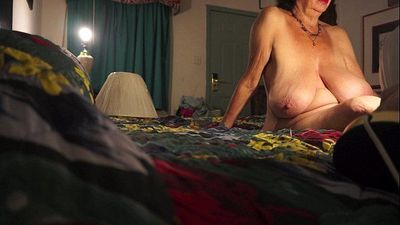 Old Ex-Stripper Photo Shoot - 6 min