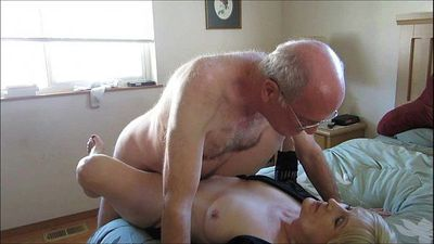 Old Couple Hooks Up Online For Sex - 3 min
