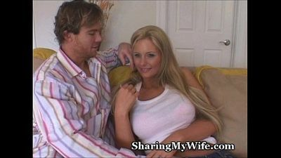 Sharing My Big Tittie Wife - 3 min