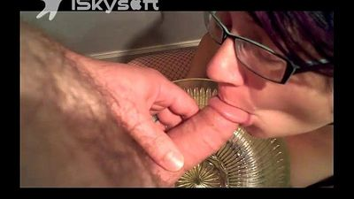 Pissing in Wife\