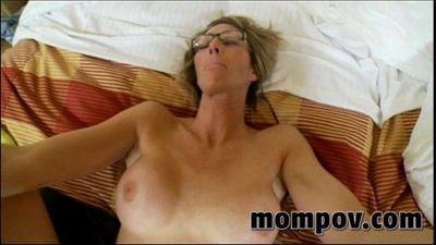 big tit milf fucking a big young cock - 5 min