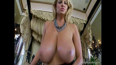 Massive Mellons Of Kelly Madison Engulf A Hard Cock - 4 min