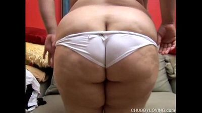 Sexy BBW has huge tits - 6 min
