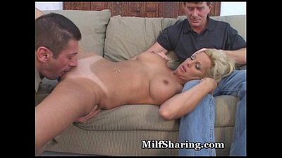 Sharing My Hot MILF - 5 min