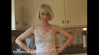 Hazel May in Kitchen - 9 min