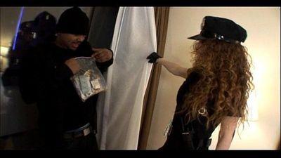 mature police officer milf bangs black criminal - 6 min