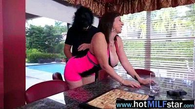 Mature Lady (sara jay) Realy Love To Ride Big Long Cock movie-25