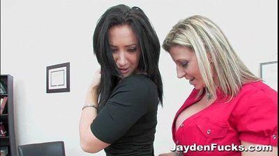 Busty Office Sluts With Jayden Jaymes