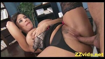 Lisa Ann office fuck