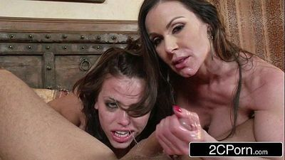 Horny Married Couple Fuck Their Son\