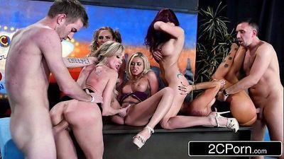 The OrgyBrandi Love, Marsha May, Monique Alexander, Phoenix Marie, Romi RainHD