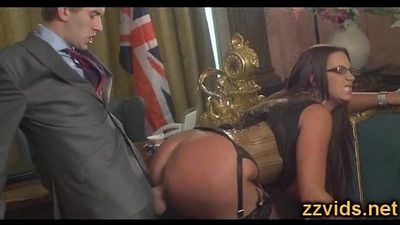 Bigtit Emma But fucked by huge cock