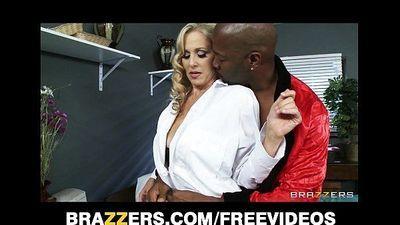 Busty blonde doctor Julia Ann is seduced by her patientHD