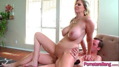 Hardcore Sex On Tape With Big Cock Ride By Hot Pornstar (Julia Ann) video-11