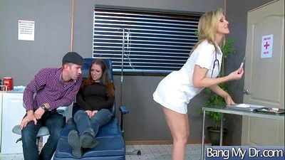 Sex Adventures Between Doctor And Horny Patient (Julia Ann) vid-14