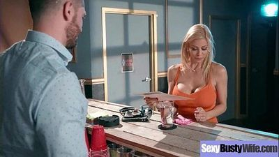 Busty Horny Housewife (Alexis Fawx) Enjoy Hard Style Sex Action movie-02