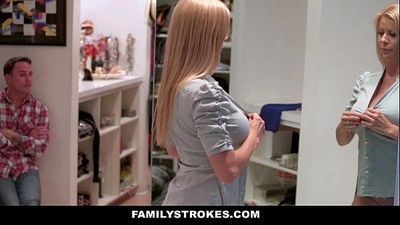 FamilyStrokesMilf Hardcore Fucked By StepSonHD